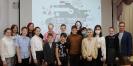 Участники встречи с наставниками детского технопарка «Кванториум» в центральной городской библиотеке